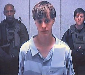 Dylann Roof appears via video before a judge, in Charleston, S.C., Friday, June 19, 2015. (AP Image)