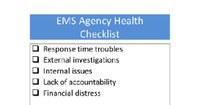 5 signs you've got an unhealthy EMS agency