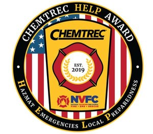 The 2020 application period is open untilSept.1, 2020. An expert panel selected by CHEMTREC and the NVFC will review the applications and determine award recipients. (Photo/CHEMTREC)