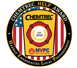 The $7,500 grant will fund training, equipment or resources for two volunteer fire departments to assist in their response to hazmat incidents. (Photo/CHEMTREC)