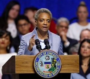 Chicago Mayor Lori Lightfoot.