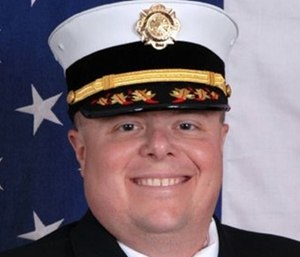 Chief Porter Welch, who was fired in August, has sued to get his job back. (Photo/IAFC Great Lakes Division)
