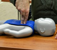 NY dad saves his own daughter with CPR training he'd used for the 1st time