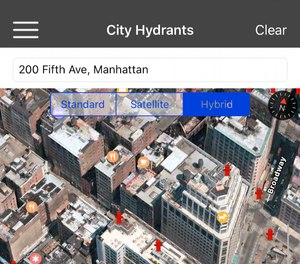 Apps in the Rapid SizeUp bundle, which includes Mobile MDT, help responders search for hydrants, fire boxes and addresses. (Image/Rapid SizeUp)