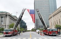 10 rules for American flag etiquette on fire apparatus