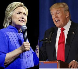 We pose debate questions for presidential candidates and presumptive nominees Hillary Clinton and Donald Trump. (Photo/AP Images)