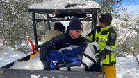 With rig stuck in the snow, Austin paramedic kept 98-year-old patient warm through transport