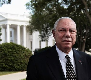 "General Colin Powell, seen in a 2011 photo outside the White House, once famously said, ""Leadership is solving problems. The day soldiers stop bringing you their problems is the day you have stopped leading them. They have either lost confidence that you can help or concluded you do not care. Either case is a failure of leadership."" (Photo/AP)"