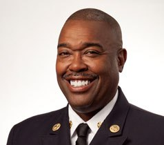 San Antonio Fire Chief Charles Hood was sent a letter of discipline after city officials determined he violated department policy by posing for a photo with a mostly-nude woman covered in sushi.