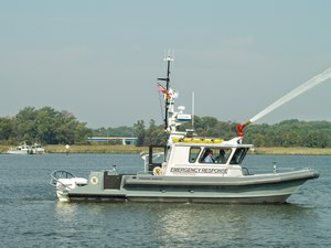 The Arundel Patriot is a key asset to the Anne Arundel County Fire Department and is outfitted with AVL
