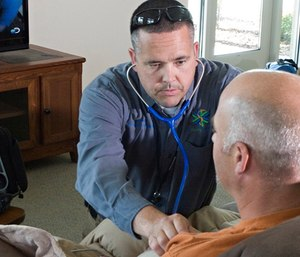 Community paramedicine, in essence, allows EMS personnel to visit the homes of individuals who require medical assistance. (Photo/Idaho State University)