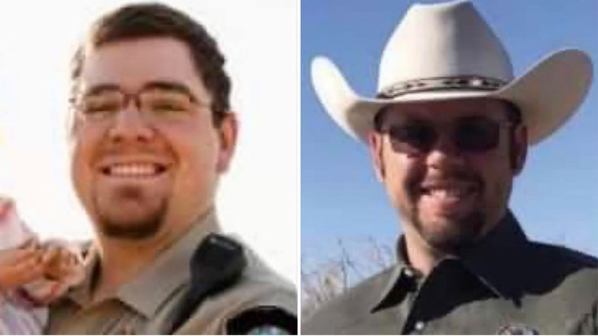 Deputy Sheriff Samuel Alexander Leonard (left) andDeputy Sheriff Stephen Jones.