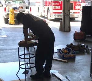 Many firefighters possess a background in labor and hard work or a specific trade-type skill. (Photo/Chad Costa)