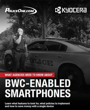 Kyocera's DuraForce PRO smartphone enabled with a body-worn camera