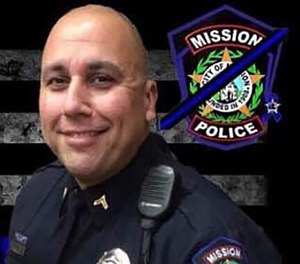 "Cpl. Joey ""Speedy"" Espericueta (Photo/ Mission Police Department)"