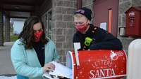 Md. firefighters answer letters to Santa