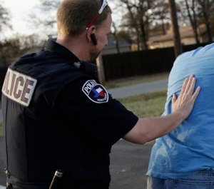 Anticipating compliance, or even lateral resistance, during handcuffing may not include a planned reaction to a suspect's collapse. (Photo/PoliceOne)