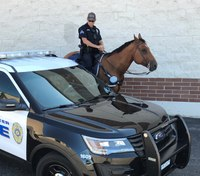 Riding tall in the saddle while wearing a badge