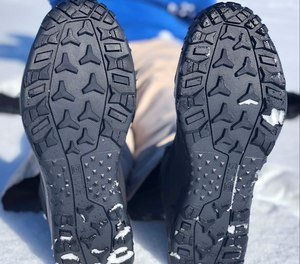 The tread on the 5.11 ATLAS is solid and diverse enough to hold traction in multiple terrain.