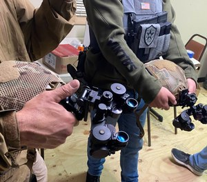 Briefings from Bill Blowers are unforgettable and come in a rapid-fire, no-nonsense fashion, even with the somewhat complex topic of NVG usage.