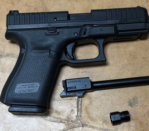 The Glock G44 will appeal to those people who love to plinkand newer shooters. (Photo/Sean Curtis)