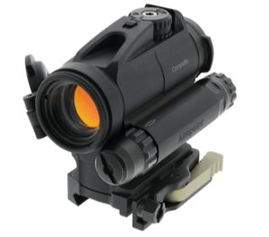 Aimpoint's CompM5b is scheduled to be released this spring. (Photo/Aimpoint)