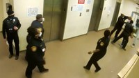 Video shows now-charged Ohio jail officer punch handcuffed inmate