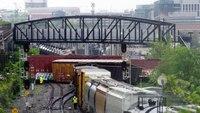 D.C. Fire Dept. in hazmat response to train derailment