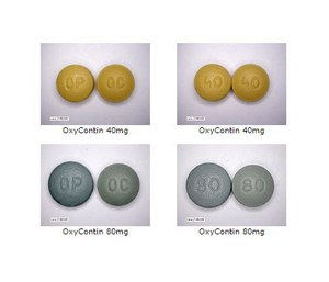 OxyContin tablets (DEA Photos)