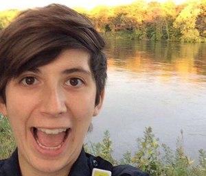 Marina DeSteno Challeen was killed in an ambulance crash Oct. 2017.