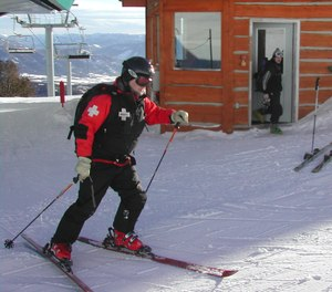 Ski patrollers have emergency medical training can increase rural EMS surge capacity.