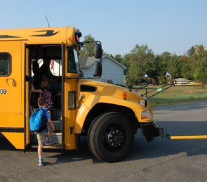 Teach parents and guardians to wait at the bus stop until their child has safely boarded the bus
