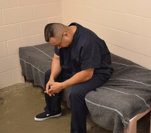 New jail patients with multiple medical problems are often scared and suspicious during their first encounter with medical personnel.