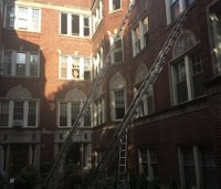 2 Chicago firefighters hurt after mayday call