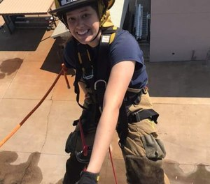 DeLeon said that the most challenging aspect of the program was the physical element, but she succeeded with all aspects of the course work.