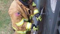 Halligan basics for firefighter forcible entry training