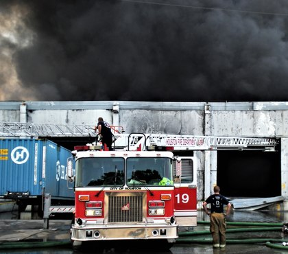 Warehouse fires: The big fire that requires big water