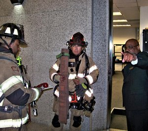 Building personnel can provide valuable information. They can quickly direct firefighters to the elevator lobby or even the correct stairwell based on information they are receiving from other personnel investigating the situation.