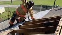 Vertical ventilation: Proposing a new way to cut a big hole