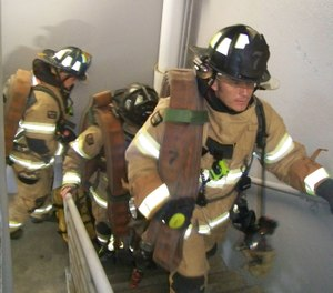 Hose packs should be designed should they are easy to carry and easy to deploy. (Photos/Chris DelBello)