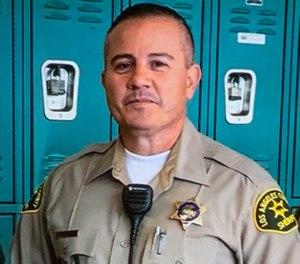 Fallen Deputy Joseph Gilbert Solano  (AP Photo/Los Angeles County Sheriff's Department)