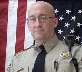 Deputy Sheriff Bill Garner was struck and killed by a vehicle while helping the occupants of an unrelated crash on Highway I-85. (Photo/ Franklin County Sheriff's Office)