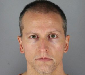Former Minneapolis police Officer Derek Chauvin was arrested for the May 25 death of George Floyd. (Hennepin County Sheriff via AP, File)