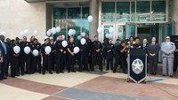 Police, community pay respects to LEOs slain in Dallas ambush