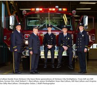 Pa. city family inspired five generations of firefighters