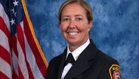 Ga. city names its 1st female deputy fire chief