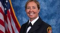 Ga. city names its 1st female deputy fire chief
