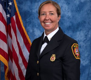 Christi Malec has been named as the first-ever female deputy chief of the Marietta Fire Department. Malec is a paramedic, hazmat technician, fire inspector and 21-year veteran of the department.