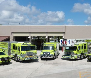 Palm Beach Gardens is outfitting firefighter-paramedics with a second set of gear to slide into when their first gets covered in ash or contaminated with blood.