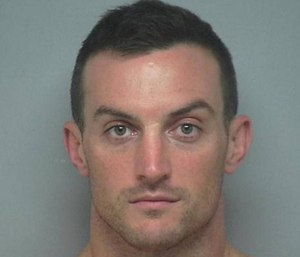 Dominic Socie was arrested after he allegedly walked around a Hilton Head restaurant asking women to show him their IDs. (Beaufort County Detention Center)